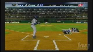 Major League Baseball 2K6 Xbox Gameplay