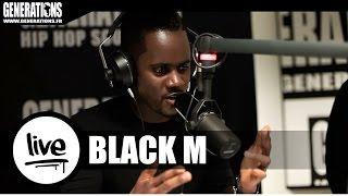 Black M - La Nuit Porte Conseil (Live des studios de Generations)
