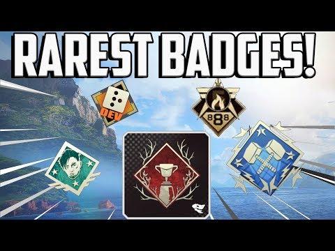 Top 10 Rarest Badges In Apex Legends