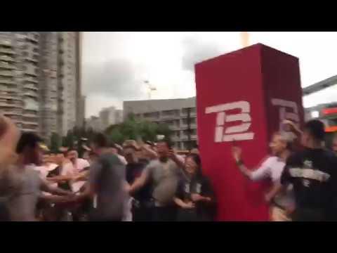 Tom Brady in Shanghai