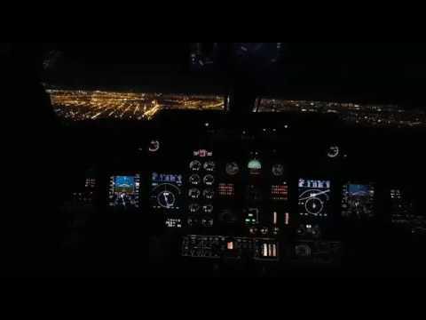 Learjet 60 Landing rw 23 San Fernando