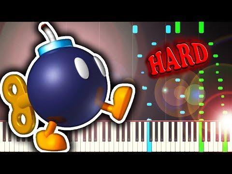 BOB-OMB BATTLEFIELD from SUPER MARIO 64 - Piano Tutorial