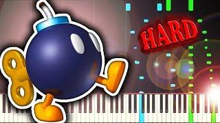 BOBOMB BATTLEFIELD from SUPER MARIO 64  Piano Tutorial
