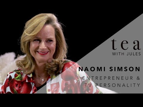 Tea with Jules with Entrepreneur and Shark Tank star, Naomi Simson