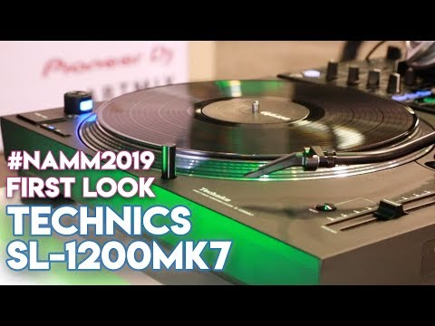 Technics SL-1200 Mk7 Turntable - #NAMM2019 - First-Look Review Mp3