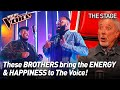 Jordan & Wesley sing 'Go Get It' by Mary Mary   The Voice Stage #50