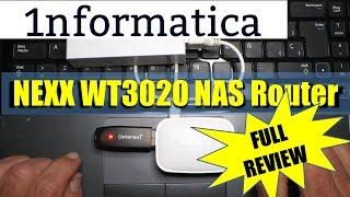 NEXX WT3020H Portable Mini Wireless NAS Router Banggood