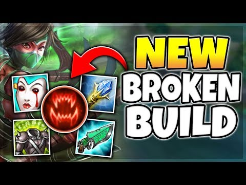 NEW ULTRA-VAMP AKALI BUILD IS SO BROKEN! (BEST BUILD) SEASON
