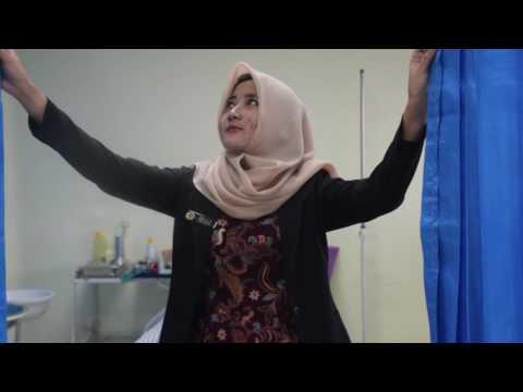Pemasangan Kateter Tetap pada Wanita