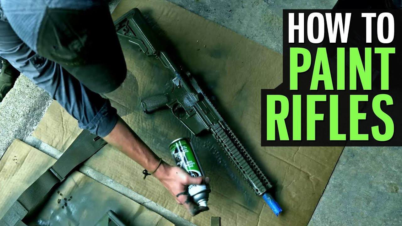 How Lucas Botkin Paints His Rifles