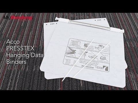 Acco PRESSTEX Hanging Data Binders