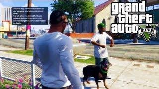 "GTA 5/ GTA V Gameplay/ Walkthrough - Rottweiler Dog- ""Chop"" out to get stuff DONE! #4"