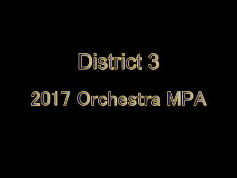 2017  Orchestra MPA   Deerlake Middle School   Orchestra 3