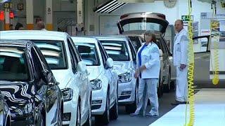 В еврозоне - падение производства