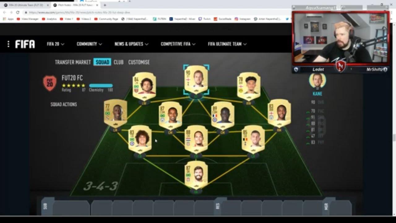 Fifa 20 Teams