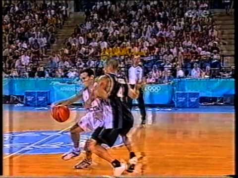 2004 Olympics Tall Blacks vs. Serbia & Montenegro - Group A - 19th August