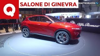 Alfa Romeo Tonale, ecco come è fatta, fuori e dentro. Arriva nel 2020 - Salone di Ginevra 2019