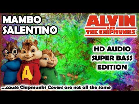 Mambo Salentino (Alvin And Chipmunks HD COVER) - Boomdabash & Alessandra Amoroso - NO ROBOTIC VOICES
