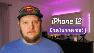 iPhone 12 ensitunnelmat