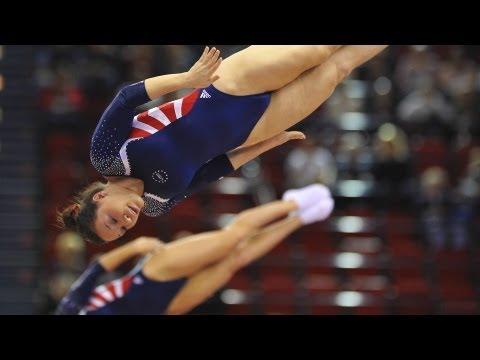 Trampoline Worlds 2011 Birmingham - Women Synchro & Individual Men's Finals - We are Gymnastics!