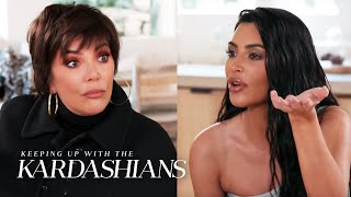 Kim Kardashian Hijacks Kris Jenner's Christmas Eve Party | KUWTK | E!