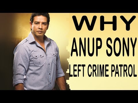 Anup Soni Crime Patrol Real Life