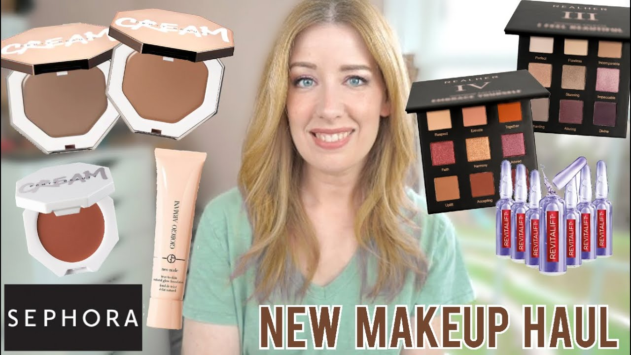 NEW MAKEUP HAUL & QUICK REVIEWS 5/3/20 | Fenty Cheeks Out Cream Bronzers & Blush, Sephora VIB Sale