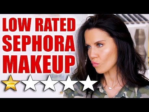 TESTING LOW-RATED SEPHORA MAKEUP