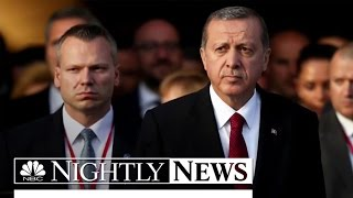 Turkish Military Declares Coup, Takes Control of Government | NBC Nightly News