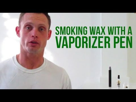 Getting Started Smoking Marijuana Wax with a Vaporizer Pen