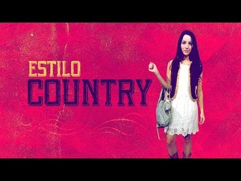 Vestidos largos estilo country