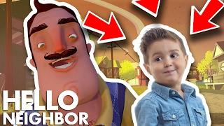 Minecraft Hello Neighbor - I Am The Neighbors Son (Minecraft Roleplay)