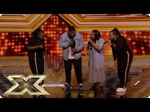 Family foursome ATTY blow The X Factor away! | Preview | The X Factor UK 2018