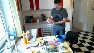 MrPink bereitet zu #27 : Hackbraten mit Käsefüllung ! Teil 1/2