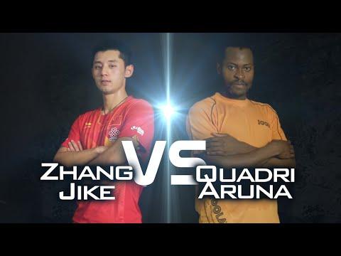 2014 Men's World Cup Highlights: ARUNA Quadri vs ZHANG Jike (Quarter Final)
