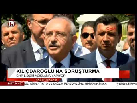Kemal Kılıçdaroğlu'na Soruşturma Açıldı... Kılıçdaroğlu'ndan Erdoğan'a Sert Cevap