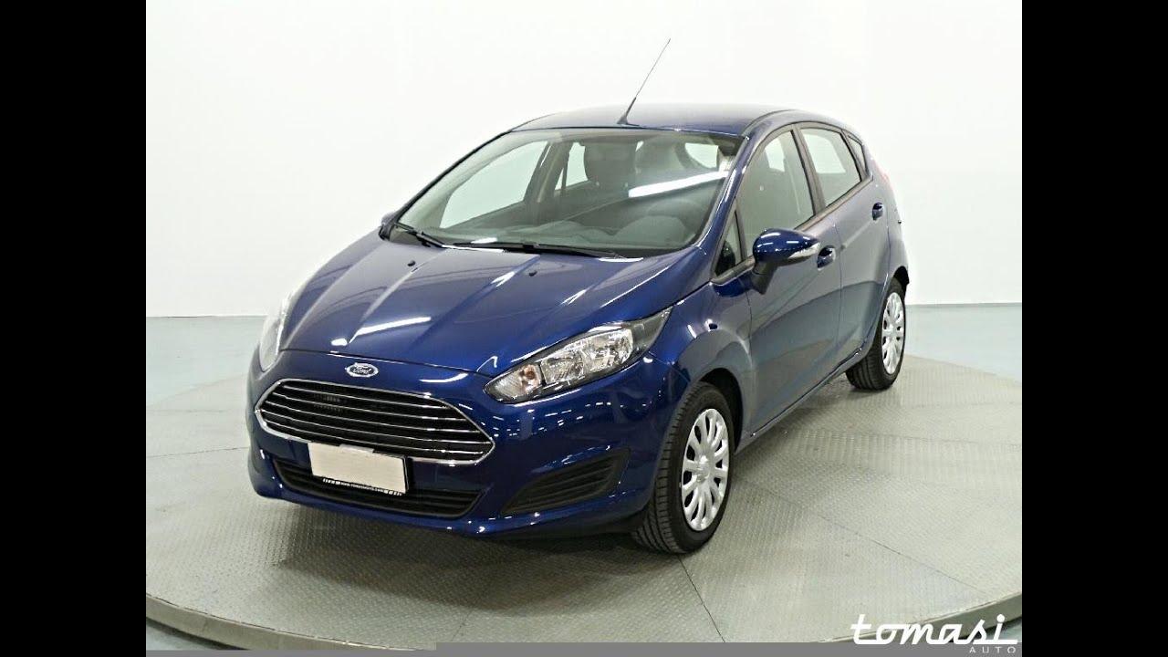Ford Fiesta 1 5 Tdci 75 Cv 5p Blu Oceano Youtube