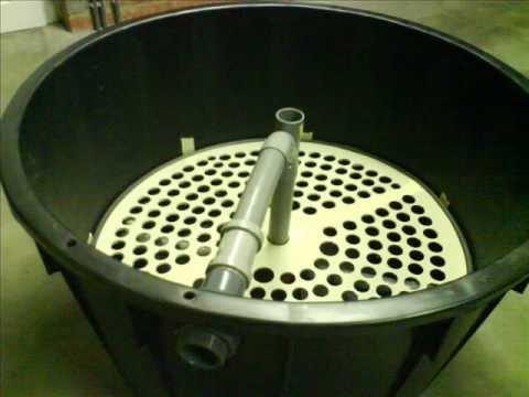 Filtration bassin ko ko pond filter diy youtube for Diy koi pond filtration