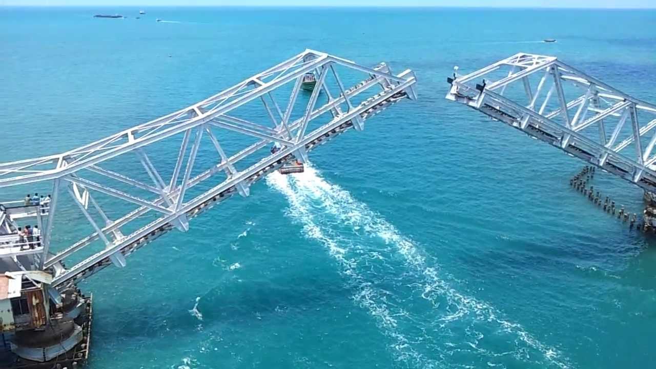 Image result for Pamban Bridge, Rameshwaram