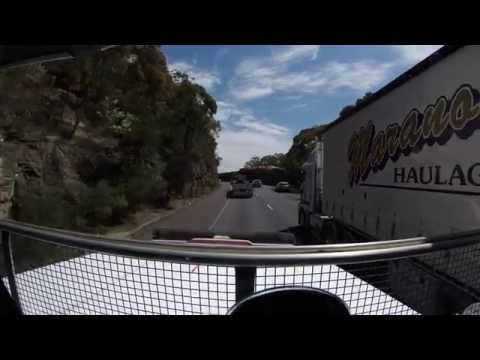 Trucking Australia in western star signature 600 double tipper 64.5 t