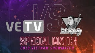 [25.11.2018] VETV vs SBTC [Showmatch][Allstar VietNam 2018]
