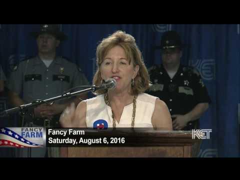 Former Sen. Kay Hagan Speech   Fancy Farm 2016   KET