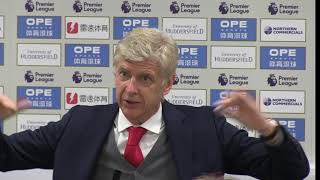 Arsene Wenger's final Arsenal press conference