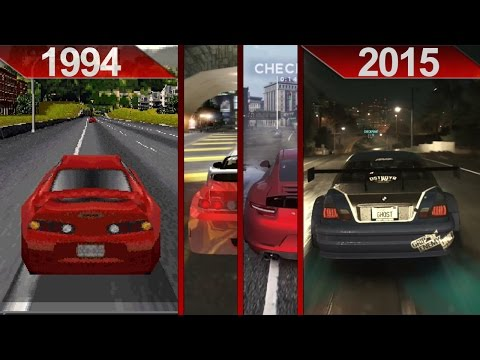 History of Need For Speed Graphics (1994 - 2015) | PC | ULTRA