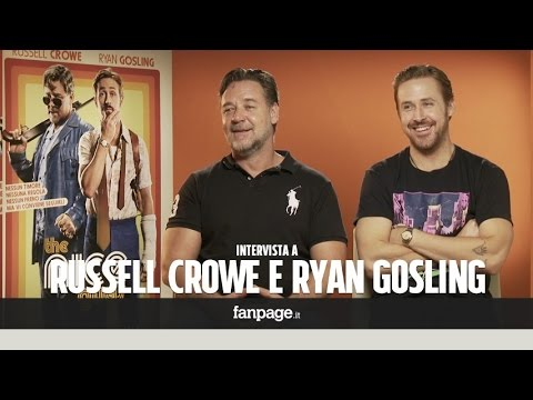 """Russell Crowe e Ryan Gosling: """"Pronti a tutto pur di farvi vedere 'The Nice Guys'"""""""