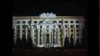 проекционное шоу в городе Харькове.wmv