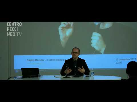 Evgeny Morozov - Digital Power and Its Discontents | After Democracy | 18.11.2017 Centro Pecci