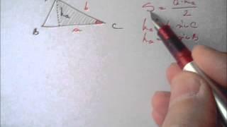 Raza cercului inscris si circumscris, suprafata triunghiului 7 5 pg4)