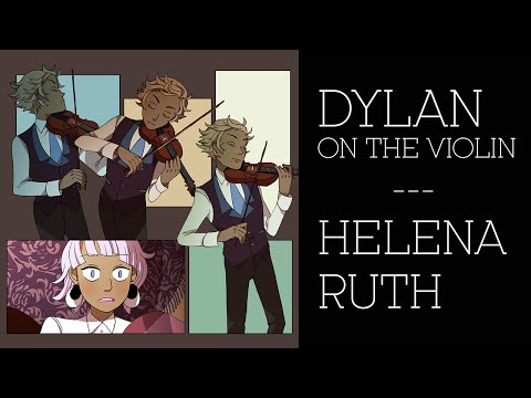 """Dylan on the Violin"" by Helena Ruth -- A Todd Allison & the Petunia Violet Fansong/MV"