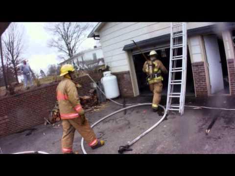 """Volunteer Firefighting NC """"Garage Fire"""""""